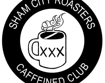 Coffee Gift Subscription, 1 year Caffeined Club Subscription And Gift Set From Sham City Roasters (UK ONLY)