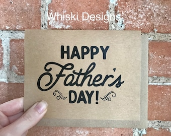 Happy Father's Day! A2 Greeting Card