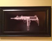 Uzi CAT scan gun print - ready...