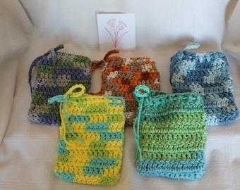 Crochet Soap Saver Holder Handmade Shower Gift