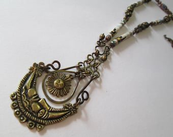 image peru necklace necklaces fully silver engraved vintage jewelry quality peruvian signed