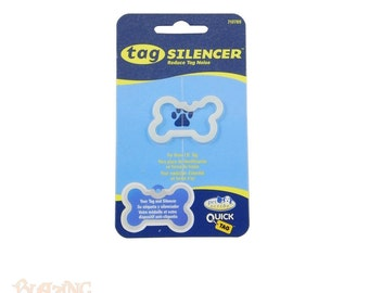 Bone Shaped Pet tag Silencer - Pet Id Tag Protector