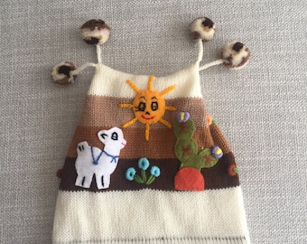 Baby White Beanie with Pom poms, Baby Beanie, Baby Hat, Boy Hat