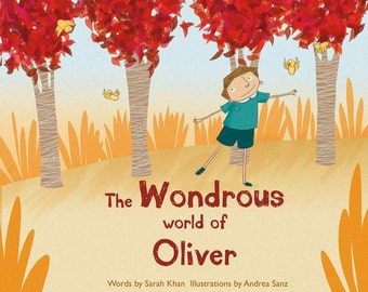 Personalised Book of Oliver