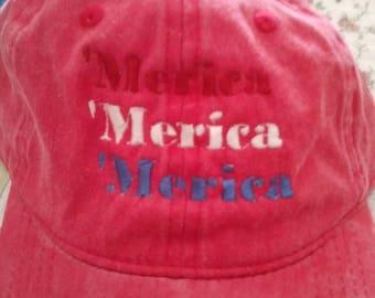 The 'merica hat.