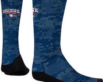 Men's University of Southern Indiana Digital Sublimated Socks (USI)