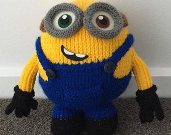 Bob the Minion Knitting Pattern PDF