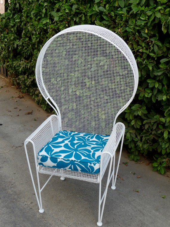 Rare Russell Woodard Patio Chair Outdoor Patio Furniture Cast