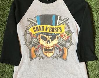 1991-1992 Guns And Roses Tour t-shirt Sz Small