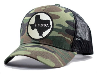 Homeland Tees Texas Home Army Camo Trucker Hat