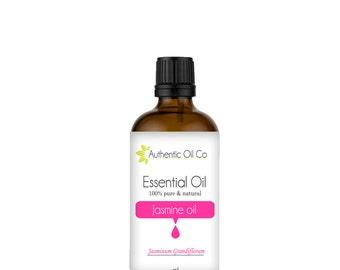 Jasmine Essential Oil 100% Pure 10ml 50ml 100ml