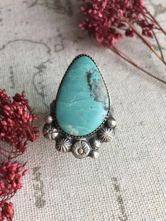 Nevada Turquoise Ring, Size 9
