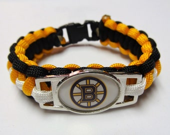 Boston Bruins Paracord Bracelet