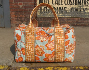 Travel Duffel Made to Order in Your Choice of Fabric