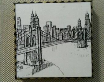 Brooklyn Bridge Art Panel