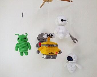 Amigurumi Sheep Baby Mobile : Baby mobile cute sheep moon & cloud sheep baby mobile