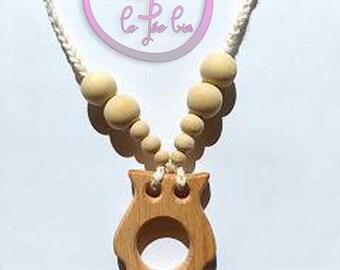 Nursing teething Babywearing necklace