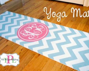 Monogrammed Yoga Mat - Design Your Own