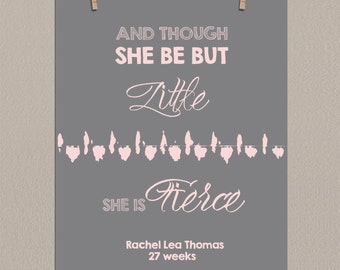 First mothers day gift baby heartbeat art new mom gift pregnancy gift baby shower gift shakespeare quote personalized baby heartbeat art ultrasound nursery quotes nursery art soundwave negle Choice Image