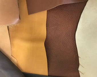 Leather, all sizes, all colors, all thickness priced per pound.