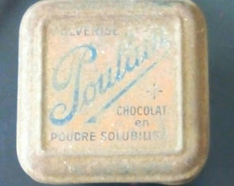 Chocolate poulain collection box