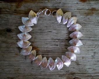 Fan Shell Link Bracelet