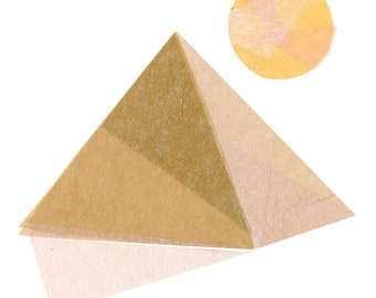 Pyramid of Giza - Pyramid Art Print