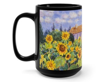 Diane Monet  Enchante  Black Mug 15Oz