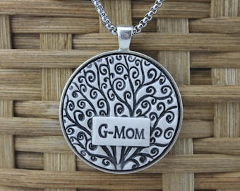 G-Mom Handmade Pottery Necklace