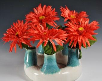 Tulip Vase, Handmade Vase, Ceramic Vase
