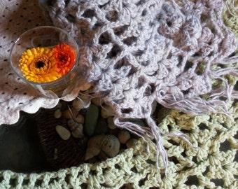 Scarf/Shawl Girl---shawl for girls---