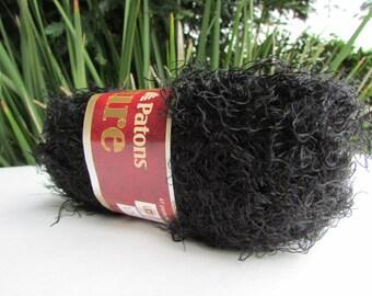 1 skein super soft Allure Yarn in Black