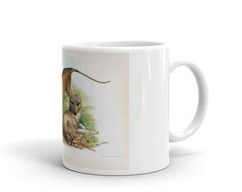 Coffee Mug - Ceramic - Tasmanian Wolf Coffee Mug
