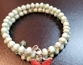 Small memory wire bracelets