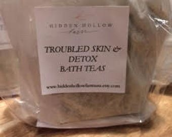 Troubled Skin & Detox Bath Tea