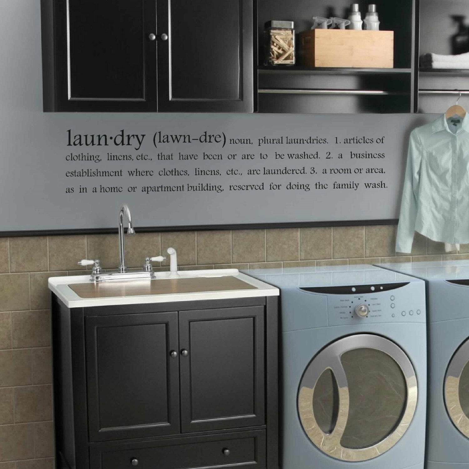 Laundry Decal Wall Decor Unique Subway Laundry Decor Laundry Room Decal Laundry Design Ideas