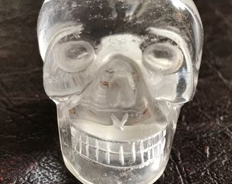 Crystal Skull Whistle - clear