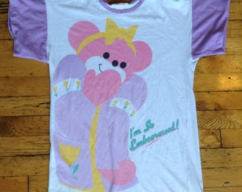1980's I'm so embearassed t shirt nightgown