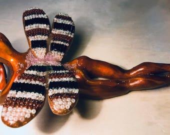 Woodgrain Dragonfly Fairy