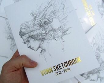 Vonn Sketchbook 2013 - 2014