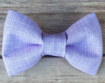 Lavender Dog Bow Tie / Light Purple Cat Bow Tie /  Bow Tie / Collar Bow Tie / Removable Dog Bow Tie / Pet Bow Tie / Dog Lover Gift