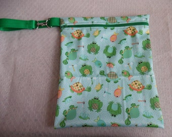 Wet Bag / PUL Bag / Baby Wet Bag / Waterproof Bag / Shower Gift / Kids Wet Bag