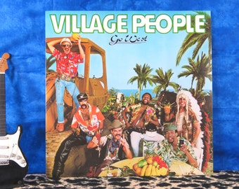Village People - Go West, vintage LP