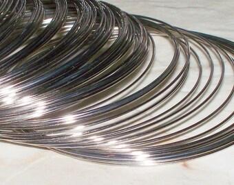 50/100 Loops Steel Memory Wire - 55MM