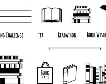 Book Lover -- Clear Stamp Set A7