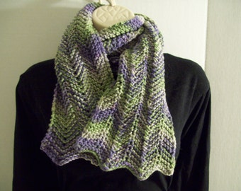 Long multi colored chevron scarf, scarf for all ages/ black friday/ cyber monday/