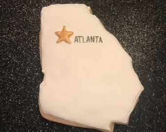 Atlanta Georgia Cookies
