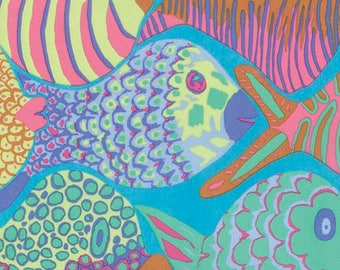 Fabric by the Yard -Shoal in Pastels--Brandon Mably for Westminster