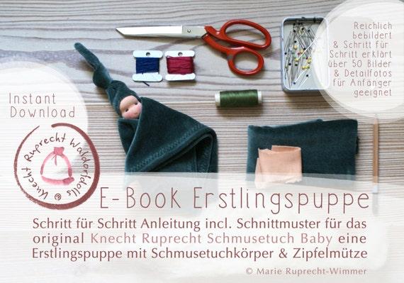 ANLEITUNG SCHNITTMUSTER EBook DIY Erstlingspuppe Waldorf