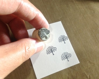 Tree of Life Rubber Stamp MIX Y016